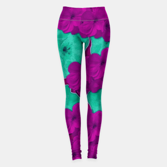 Floral and  more florals   popart Leggings thumbnail image
