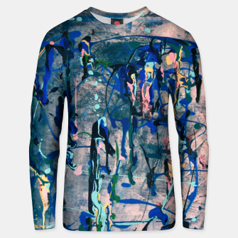 Miniaturka Chrome (action painting) Unisex sweater, Live Heroes