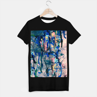 Imagen en miniatura de Chrome (action painting) T-shirt regular, Live Heroes