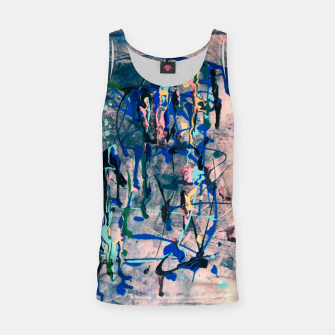 Miniaturka Chrome (action painting) Tank Top, Live Heroes
