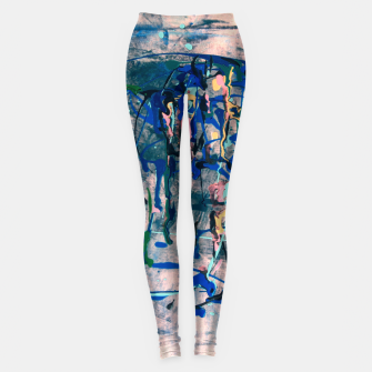 Imagen en miniatura de Chrome (action painting) Leggings, Live Heroes