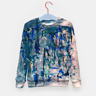 Imagen en miniatura de Chrome (action painting) Kid's sweater, Live Heroes