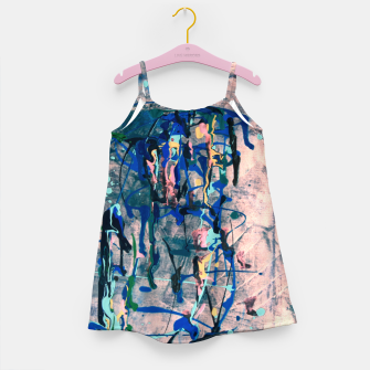 Miniaturka Chrome (action painting) Girl's dress, Live Heroes