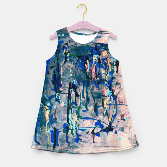 Imagen en miniatura de Chrome (action painting) Girl's summer dress, Live Heroes
