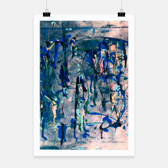 Chrome (action painting) Poster miniature