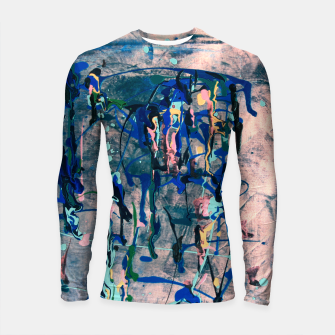 Chrome (action painting) Longsleeve rashguard  miniature