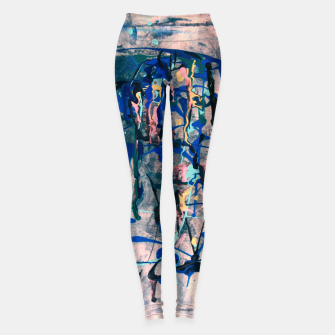 Chrome (action painting) Leggings miniature