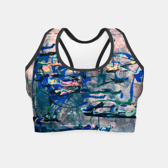 Miniaturka Chrome (action painting) Crop Top, Live Heroes