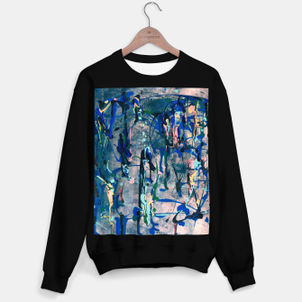 Imagen en miniatura de Chrome (action painting) Sweater regular, Live Heroes