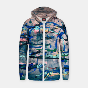 Imagen en miniatura de Chrome (action painting) Zip up hoodie, Live Heroes