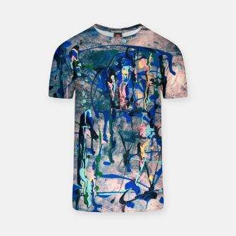 Imagen en miniatura de Chrome (action painting) T-shirt, Live Heroes