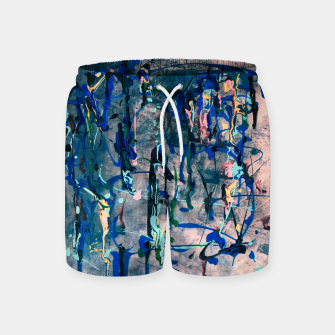 Imagen en miniatura de Chrome (action painting) Swim Shorts, Live Heroes
