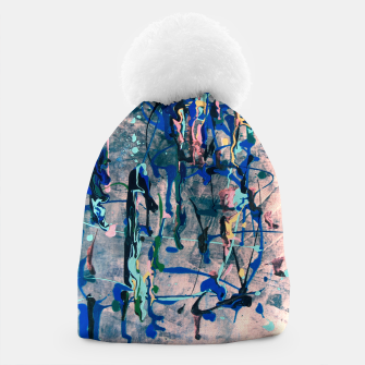 Miniatur Chrome (action painting) Beanie, Live Heroes