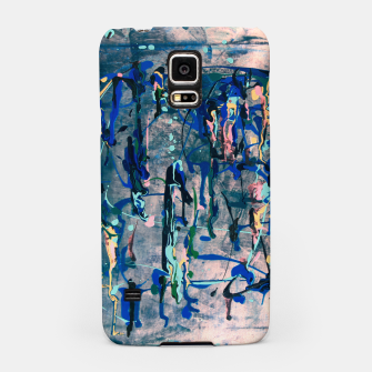 Miniaturka Chrome (action painting) Samsung Case, Live Heroes