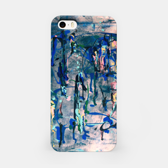 Imagen en miniatura de Chrome (action painting) iPhone Case, Live Heroes