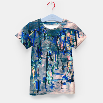 Miniaturka Chrome (action painting) Kid's t-shirt, Live Heroes