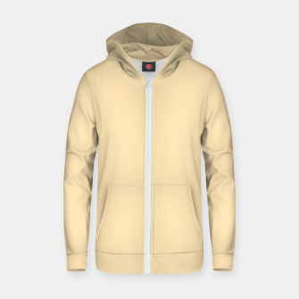 Thumbnail image of color moccasin Zip up hoodie, Live Heroes