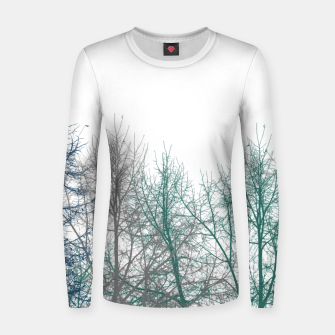 Thumbnail image of Multicolor Graphic Botanical Print Women sweater, Live Heroes