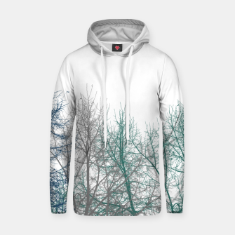 Thumbnail image of Multicolor Graphic Botanical Print Hoodie, Live Heroes