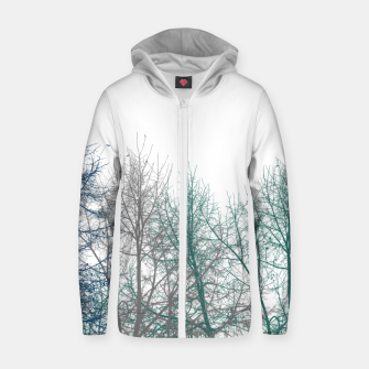 Thumbnail image of Multicolor Graphic Botanical Print Zip up hoodie, Live Heroes