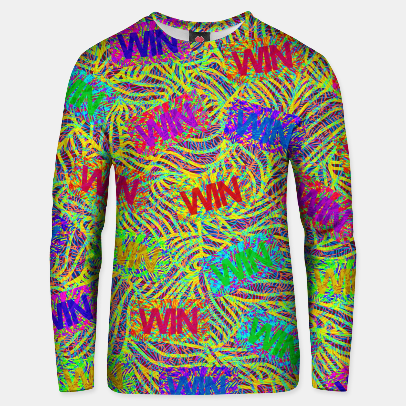 Image of Win Unisex sweater - Live Heroes