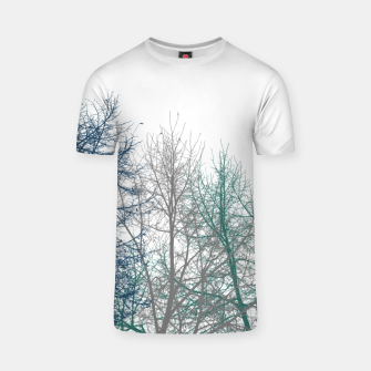 Thumbnail image of Multicolor Graphic Botanical Print T-shirt, Live Heroes