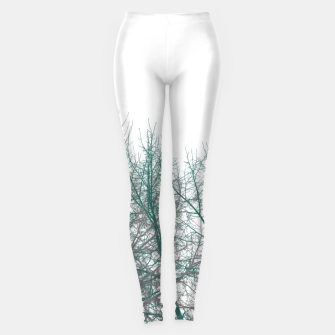 Thumbnail image of Multicolor Graphic Botanical Print Leggings, Live Heroes