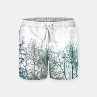 Thumbnail image of Multicolor Graphic Botanical Print Swim Shorts, Live Heroes