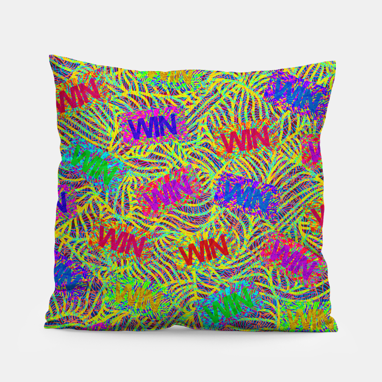 Image of Win Pillow - Live Heroes