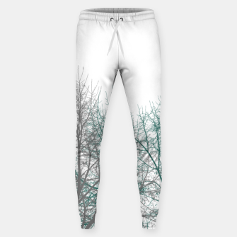 Thumbnail image of Multicolor Graphic Botanical Print Sweatpants, Live Heroes