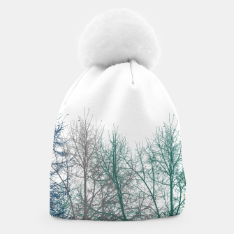Thumbnail image of Multicolor Graphic Botanical Print Beanie, Live Heroes