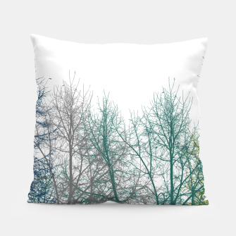 Thumbnail image of Multicolor Graphic Botanical Print Pillow, Live Heroes