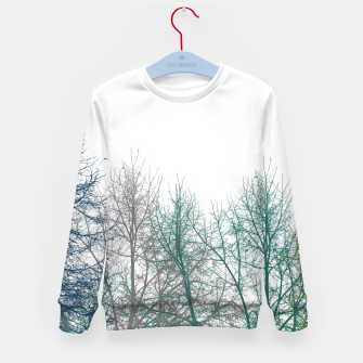 Thumbnail image of Multicolor Graphic Botanical Print Kid's sweater, Live Heroes