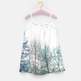 Thumbnail image of Multicolor Graphic Botanical Print Girl's dress, Live Heroes