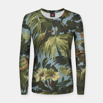 Thumbnail image of flower 4 Women sweater, Live Heroes