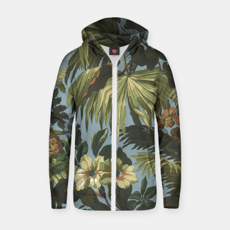 Thumbnail image of flower 4 Zip up hoodie, Live Heroes