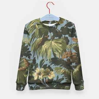 Thumbnail image of flower 4 Kid's sweater, Live Heroes