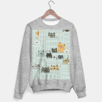 Miniatur Cats and the City Sweater regular, Live Heroes