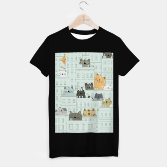 Miniatur Cats and the City T-shirt regular, Live Heroes
