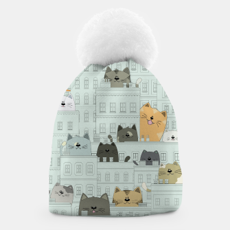 Miniatur Cats and the City Beanie, Live Heroes