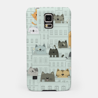 Miniatur Cats and the City Samsung Case, Live Heroes