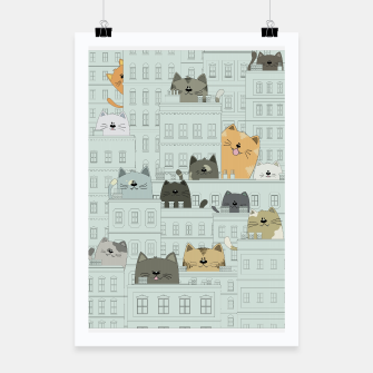 Miniatur Cats and the City Poster, Live Heroes