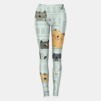 Miniatur Cats and the City Leggings, Live Heroes