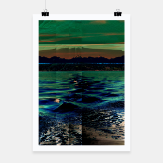 Miniatur Campbell River Poster, Live Heroes