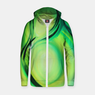 Thumbnail image of Olive Zip up hoodie, Live Heroes
