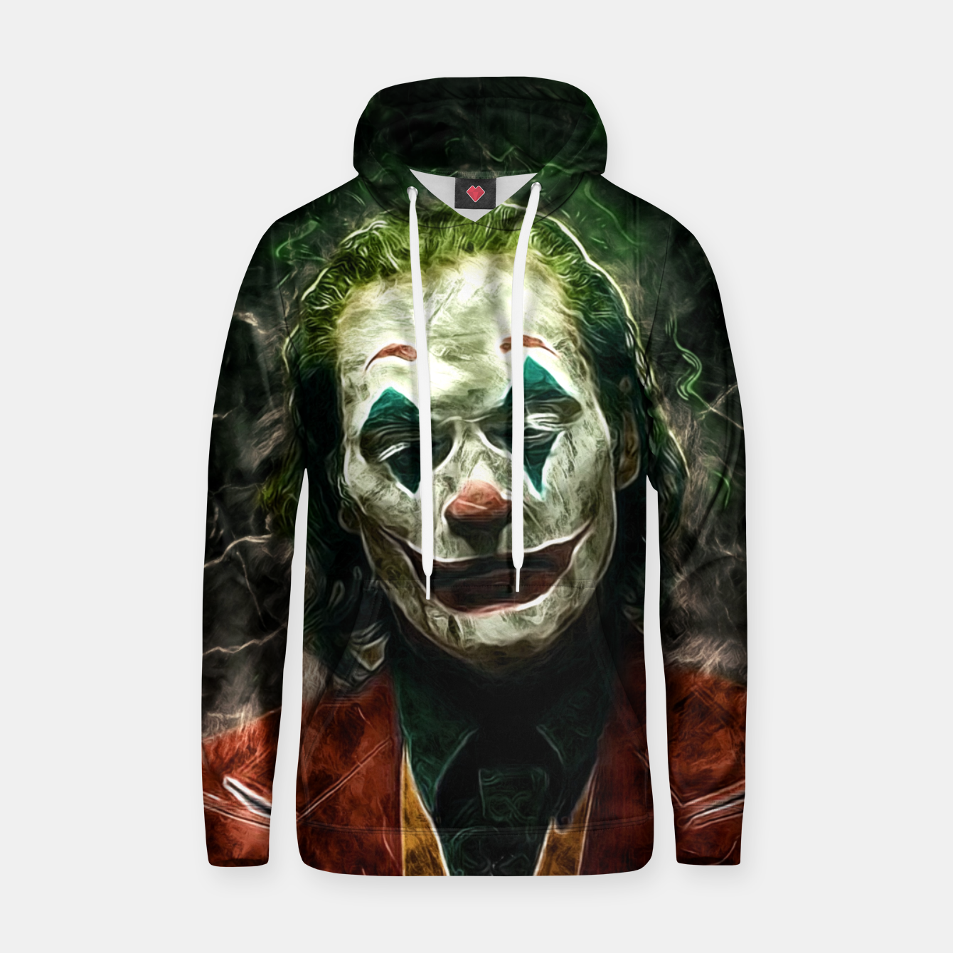 Image of The joke Sudadera con capucha - Live Heroes