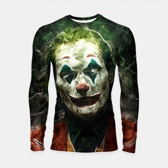 Thumbnail image of The joke Longsleeve rashguard, Live Heroes