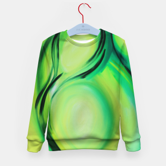 Thumbnail image of Olive Kid's sweater, Live Heroes