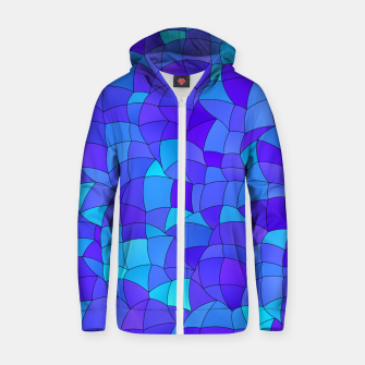 Thumbnail image of Geometric Shapes Fragments Pattern 2 std Zip up hoodie, Live Heroes