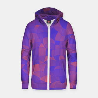 Thumbnail image of Geometric Shapes Fragments Pattern 2 pp2 Zip up hoodie, Live Heroes